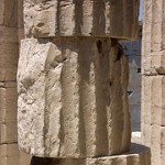 misaligned greek column